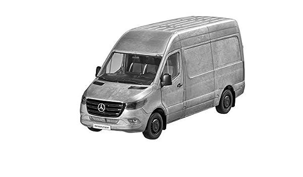 MB Mercedes Benz Sprinter, buzón de Carro, Rugged Edition Color Plateado, NOREV, 1: 18. Unidades limitadas.: Amazon.es: Coche y moto