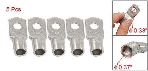 Miki/&Co Lot de 5 c/âbles 50mm2 Dimensions 8,4 mm-Trou Oeillet en cuivre