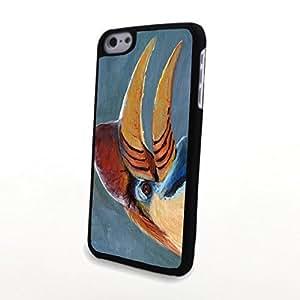 linJUN FENGGeneric PC Phone Cases Vivid Cute 3D Bird Matte Pattern fit for Comic Colorful iphone 6 4.7 inch Case