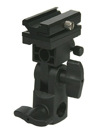 Amariver-Flash-Bracket-Swivel-Umbrella-Holder-Studio-Tilting-Bracket-for-Nikon-Canon-E430-E580-SB600-SB800-SB900-Bracket-B