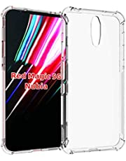 For Nubia Red Magic 5G, Ultra Silm Case Cover [Transparent] [Anti-Scratch] [Shock Absorption] [Durable]