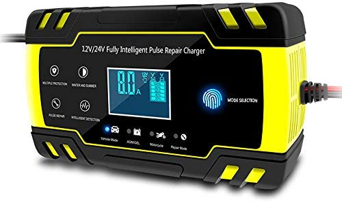 Amazon.com: CWWHY Cargador de batería totalmente automático ...