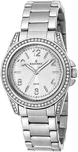 Radiant new Wish Reloj para Mujer Analógico de Cuarzo con Brazalete de Acero Inoxidable RA230204: Amazon.es: Relojes