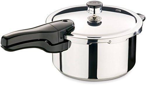 Presto 4-Quart Stainless Steel Pressure Cooker, 01341 1