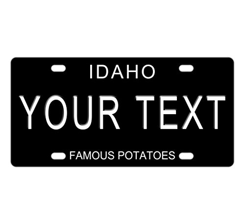 Custom IDAHO License Plate With