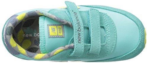 New Balance , Mädchen Sneaker Grün Aqua/Yellow