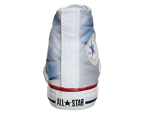 Converse Customized Adulte - chaussures coutume (produit artisanal) Aquila