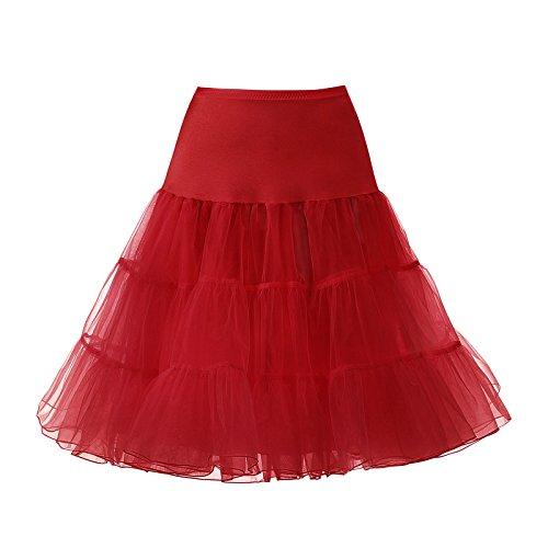 Red Adult Petticoat - 4