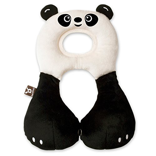 BenBat Travel Friends On The Go Nackenkissen, 1-4 Jahre, Pandadesign