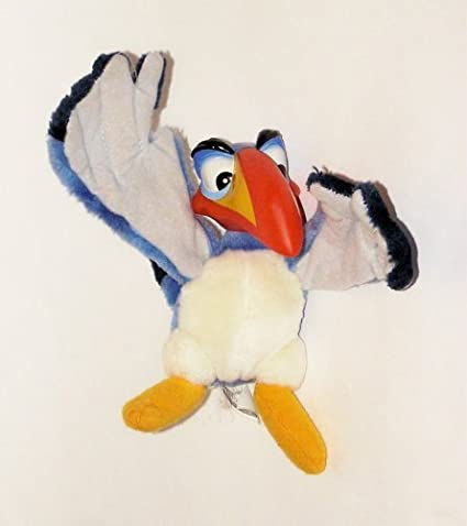 Authentic The Lion King 7 Plush Zazu The Hornbill Bird