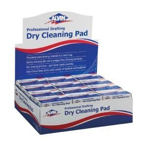 DISPLAY-DRY CLEANING PADS 36pc Displays by Alvin