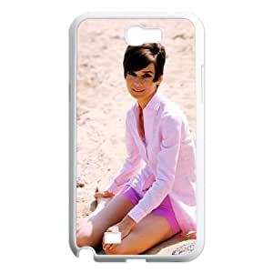 Samsung Galaxy N2 7100 Cell Phone Case White Audrey Hepburn YTC Girly Phone Cases