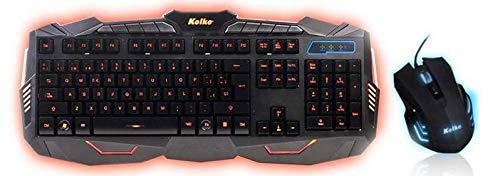 KIT TECLADO + MOUSE GAMER KOLKE KTMIG-531