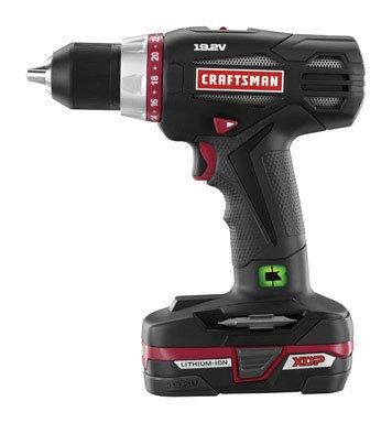 Craftsman 19.2V Xcp Heavy Duty Drill
