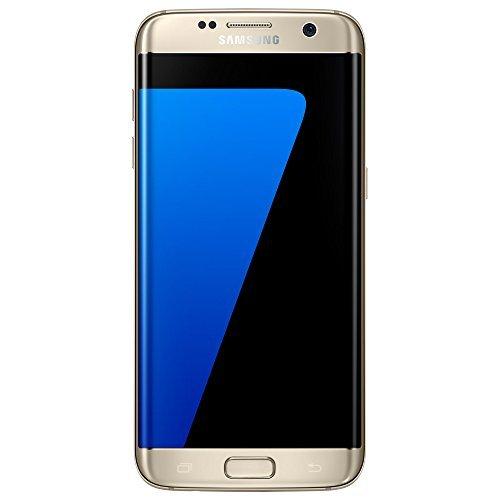 Samsung Galaxy S7 Edge Duos SM-G9350 32GB Dual SIM Unlocked GSM Smartphone - International Version, No Warranty (Gold)
