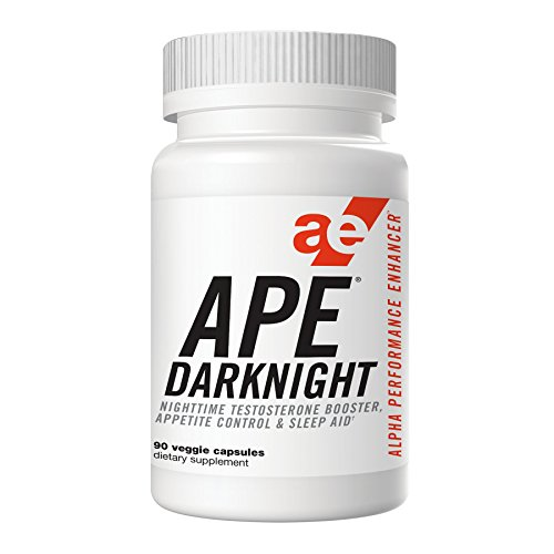 APE Darknight Testosterone Booster with Appetite Control & Sleep Aid - Maximize Nighttime Testosterone Production, Reduce Nighttime Food & Sweet Cravings, Support Healthy Sleep Cycles - 90 - Maximize Testosterone