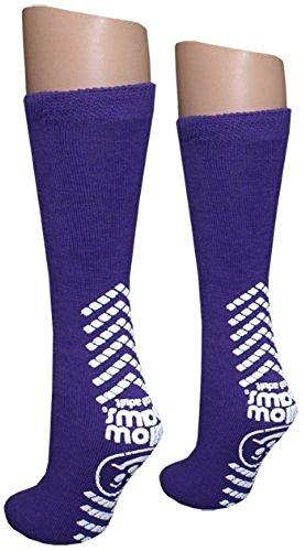 Tred Mates - Ladies Purple Slipper Socks - Tred Mates - XXL