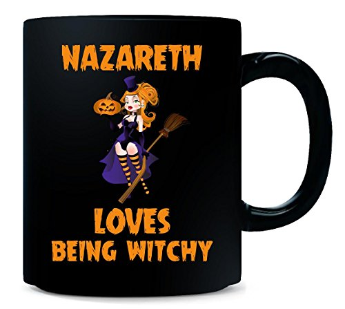 Nazareth Loves Being Witchy Halloween Gift - Mug ()