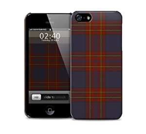 Tartan iPhone 5 / 5S protective case by lolosakes