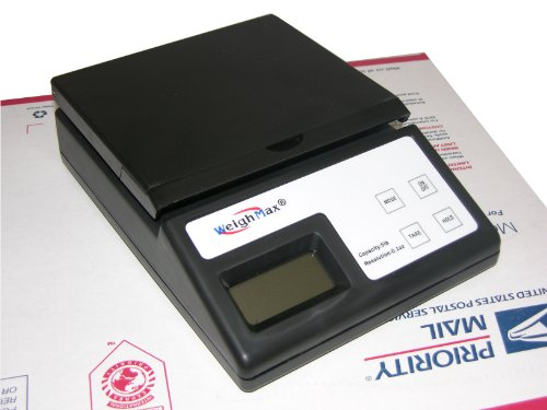 Weighmax USPS Style 5 Pound Postal Mailing Scale (W-2812-5LB) ()