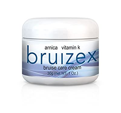 BRUIZEX CREAM – ARNICA & VITAMIN K bruise healing skin cream. Reduces bruising, swelling, and pain after skin trauma. Enhances skin recovery after cosmetic surgery and prevents chronic skin bruising