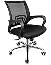 Simple Deluxe Office Chair - with Swivel Casters and Arms, Ergonomic Desk Chair, Adjustable Height Task Chair for Students Teens Men Women, Dorm Home Office Use, Upgrade Version