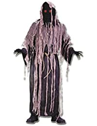 Adult Light Up Gauze Zombie Costume - One Size Fits Most