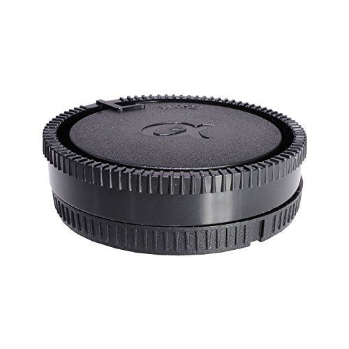 CamDesign Rear Lens Cap and Body Cap Set for Sony Alpha, Minolta AF lenses. For with Sony A100, A200, A230, A290, A300, A330, A350, A380, A390, A450, A500, A550, A560, A580, A700, A850, A900, SLT-A35,