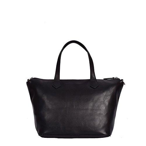 Shopper Braccialini con tracolla Sparkling B10910 nero
