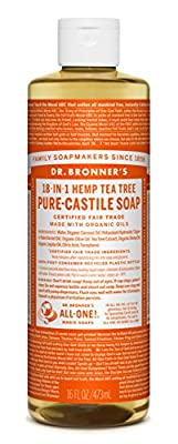 Dr. Bronner's Pure-Castile Liquid Soap - Tea Tree 32oz. by Dr Bronner's
