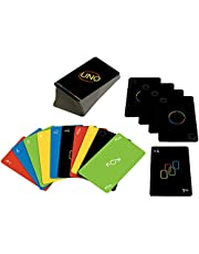 Mattel GAMES UNO Minimalista Card Game for 7 Year Olds & Up