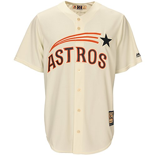 Houston Astros 1965-1970 Cream Throwback Men's Jersey – DiZiSports Store