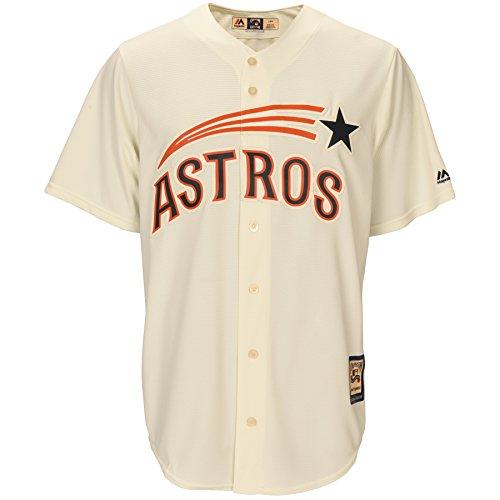 Houston Astros 1965-1970 Cream Throwback Men's Jersey – Sports Center Store