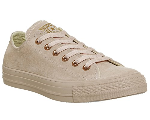 Converse Core Exclusive Unisex Sneaker Lea Gold Ox adulto Chuck Rose Taylor Bisque qERHrE
