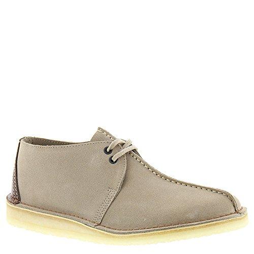 Clarks Men's Suede Wallabee Shoes, Sand, 9 D(M) US