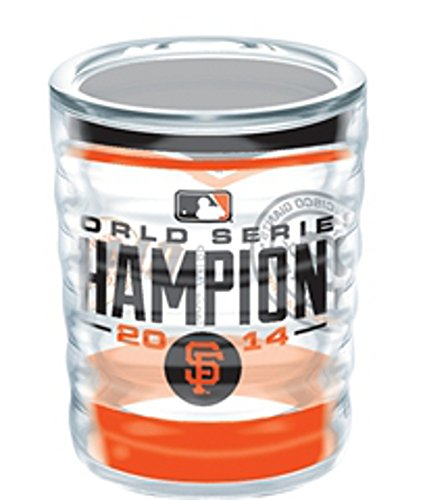 Tervis MLB San Francisco Giants 2014 World Series Champions Wrap 2.5oz Collectible Tumbler ()