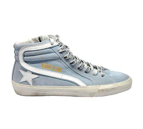 Camoscio G34ms595a21 Hi Azzurro Golden Uomo Sneakers Top Goose 7wWqUxO