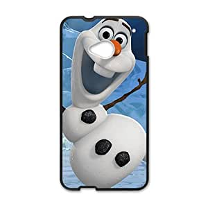 Happy Frozen lovely snow dolldom Cell Phone Case for HTC One M7