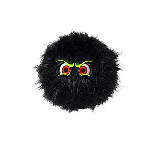 Silly Squeakers iBalls Dog Toy, Medium, Black