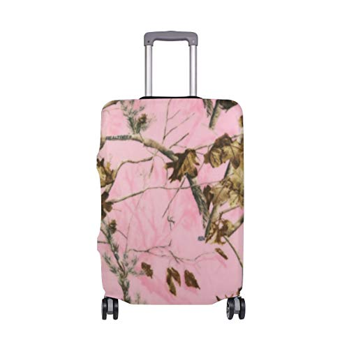 Pink Realtree Camo Travel Luggage Cover Suitcase Protector Fits 18-20 Inch Luggage