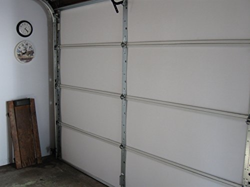 Matador garage door insulation kit designed for 7 foot for Tall garage doors