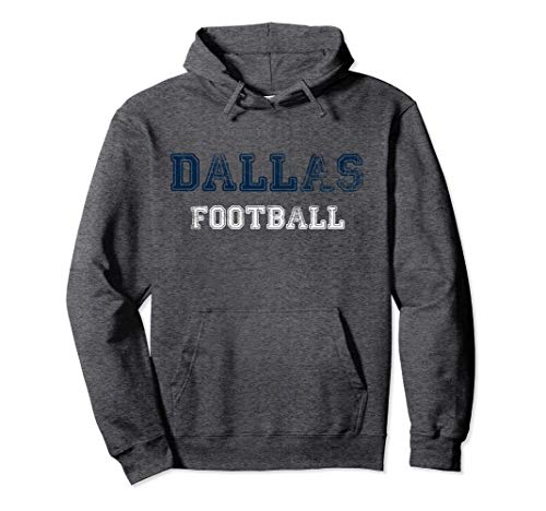 Dallas Distressed Pro Football Team Championship Hoodie