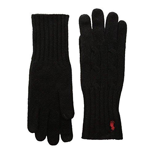 閲覧するロデオ愛国的な(ラルフ ローレン) Polo Ralph Lauren レディース 手袋?グローブ Cashmere Blend Classic Cable Knit Gloves [並行輸入品]
