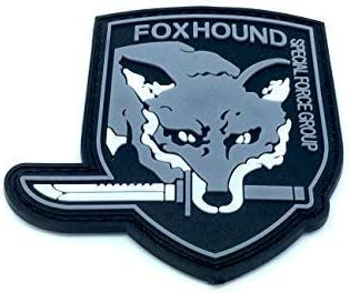 Foxhound Special Force Group - Parche para Airsoft (PVC), Color Gris: Amazon.es: Deportes y aire libre