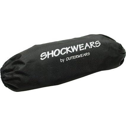 99-08 HONDA TRX400EX: Outerwears Shockwears Rear Shock Cover (Rear/Black)