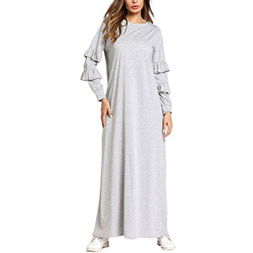 Zhuhaitf Special Lace Maxi Long Dress Islamic Clothing Arabic Maxi Dresses For Women