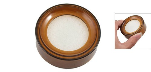 UPC 608641511666, uxcell Coffee Plastic Round Sponge Money Casher Finger Wet Device