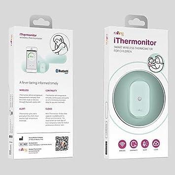 WCK Smart Wireless termómetro para niños (monitoraggio costante ...