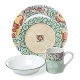 Cheap Corelle Impressions Watercolors 16 Piece Dinnerware Set