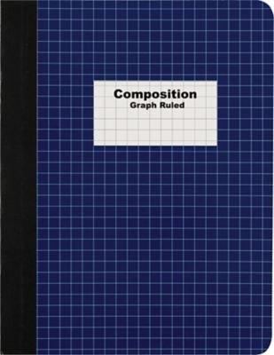 "Staples Graph Composition Book, 9.75"" x 7.5"" Graph Paper ..."